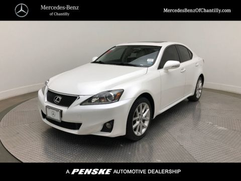 Pre-Owned 2012 Lexus IS 250 4dr Sport Sedan Automatic AWD