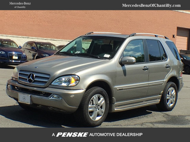 pre owned 2005 mercedes benz m class ml 500