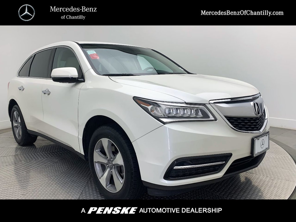 Pre-Owned 2015 Acura MDX FWD 4dr