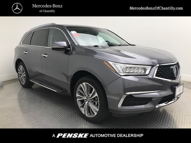 Pre Owned 2017 Acura Mdx Fwd W Technology Pkg
