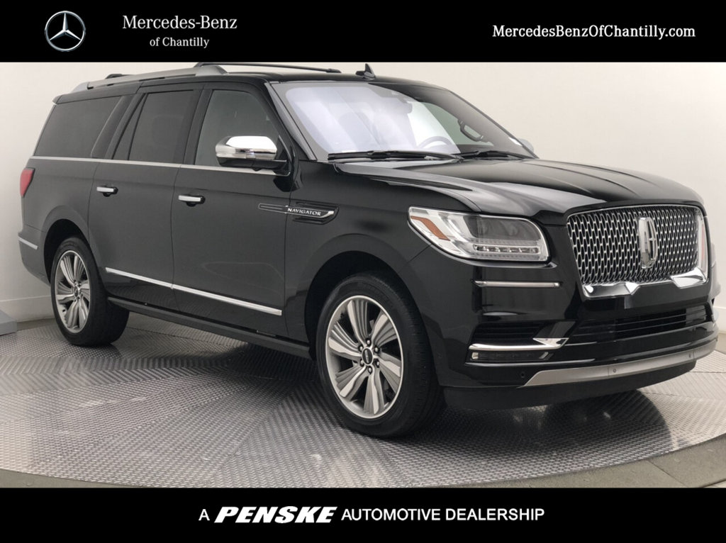 Pre-Owned 2018 Lincoln Navigator L 4x4 Black Label