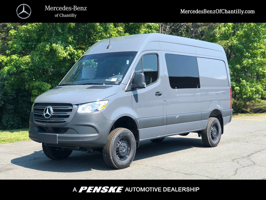 New 2020 Mercedes-Benz Sprinter Crew Van 2500 Standard Roof V6 144