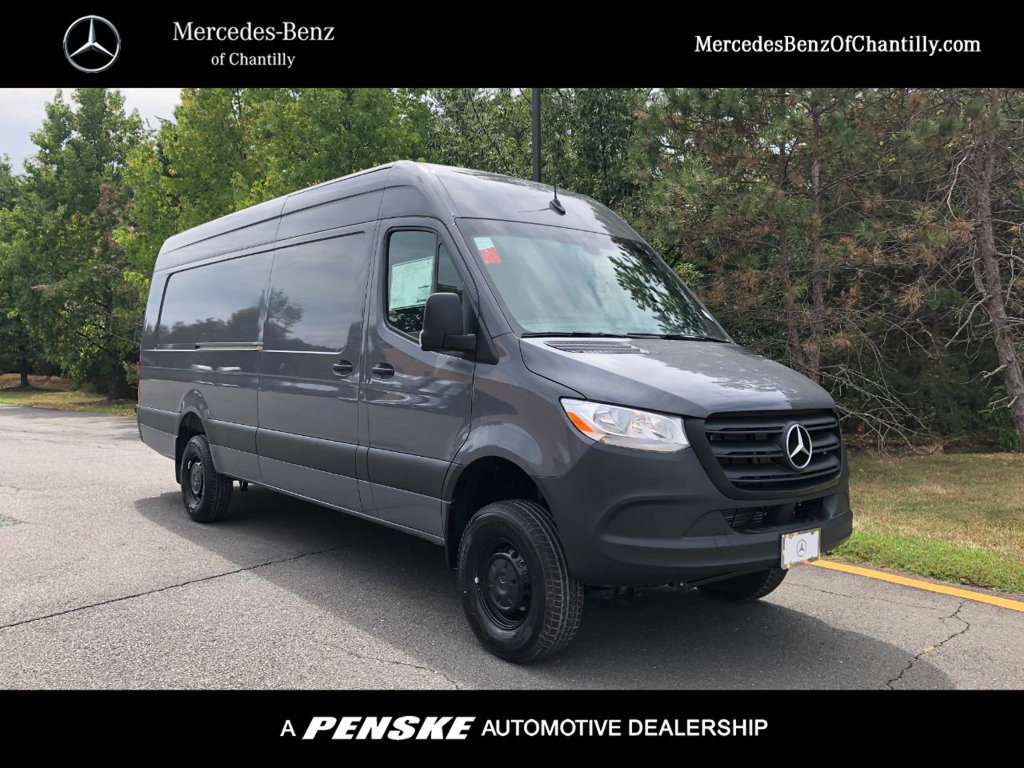 New 2019 Mercedes Benz Sprinter 2500 Extended Cargo Van Four Wheel Drive Cargo Van