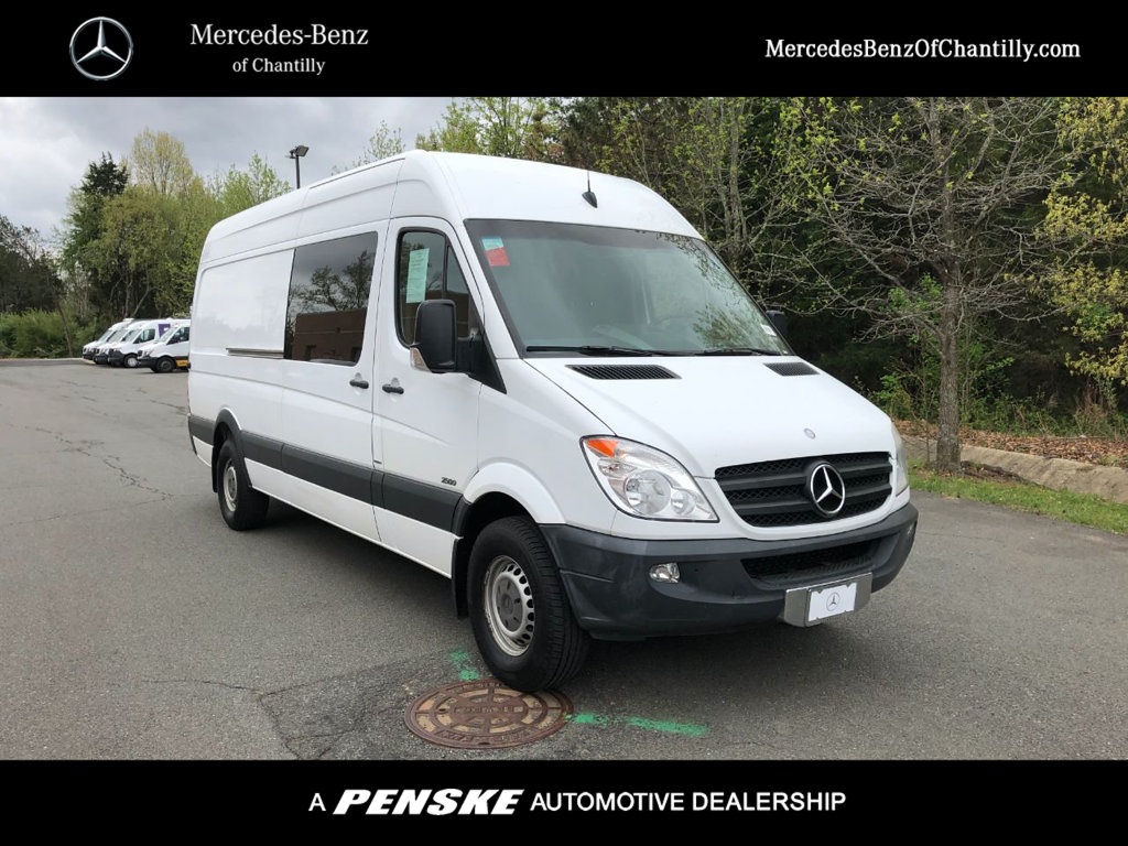 Pre-Owned 2013 Mercedes-Benz Sprinter 2500 Crew Van