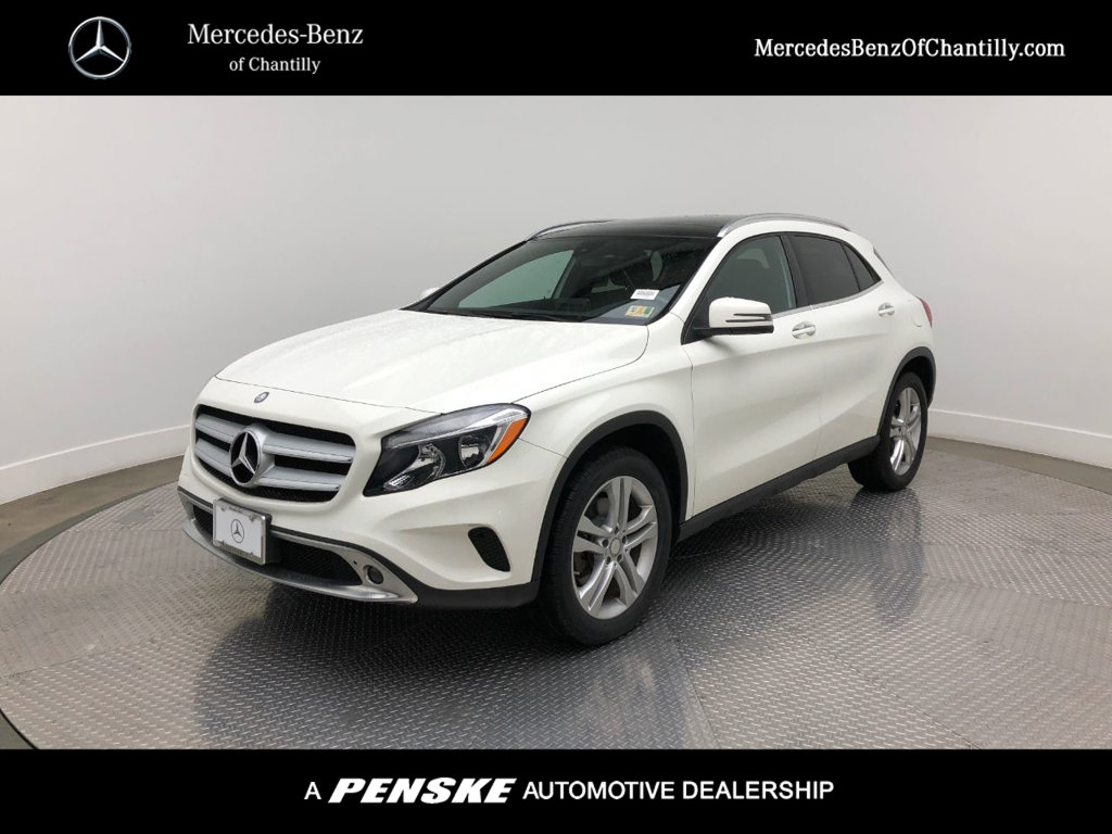 Certified Pre Owned 2017 Mercedes Benz Gla 250 4matic Suv