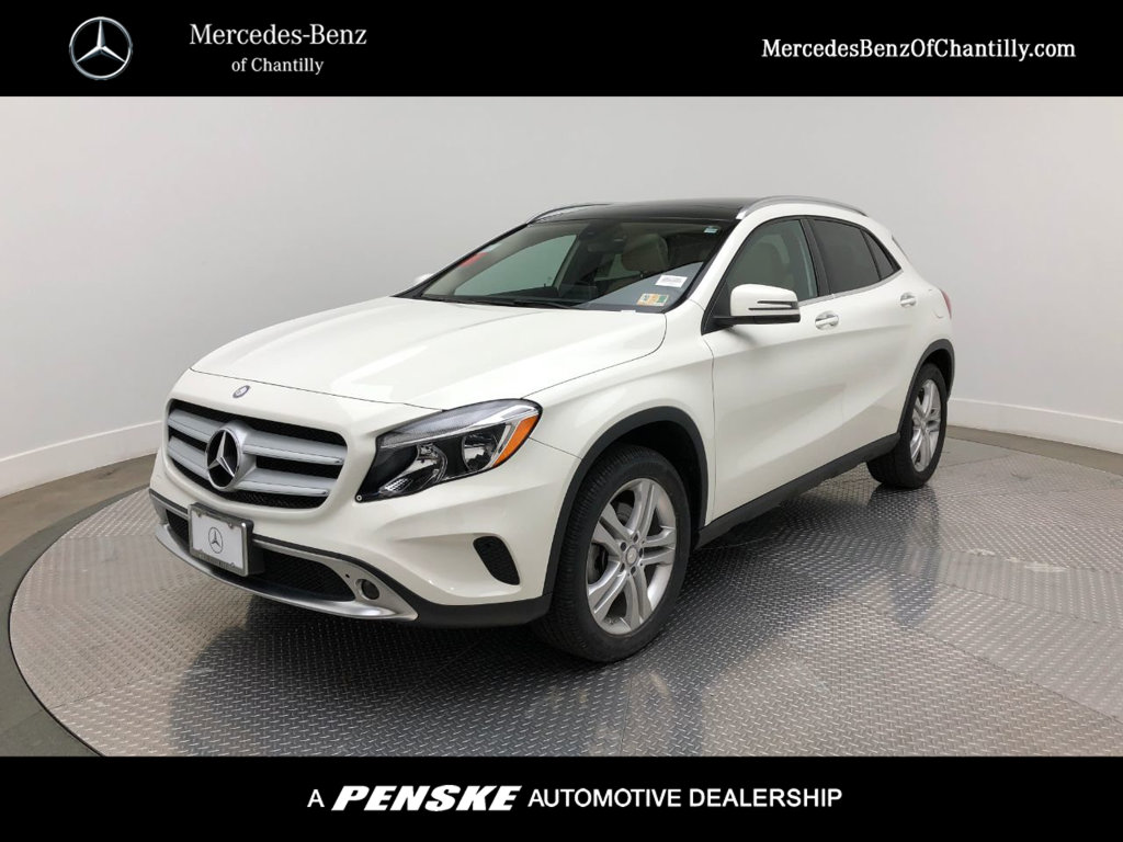 Certified Pre Owned 2016 Mercedes Benz Gla 4matic 4dr 250