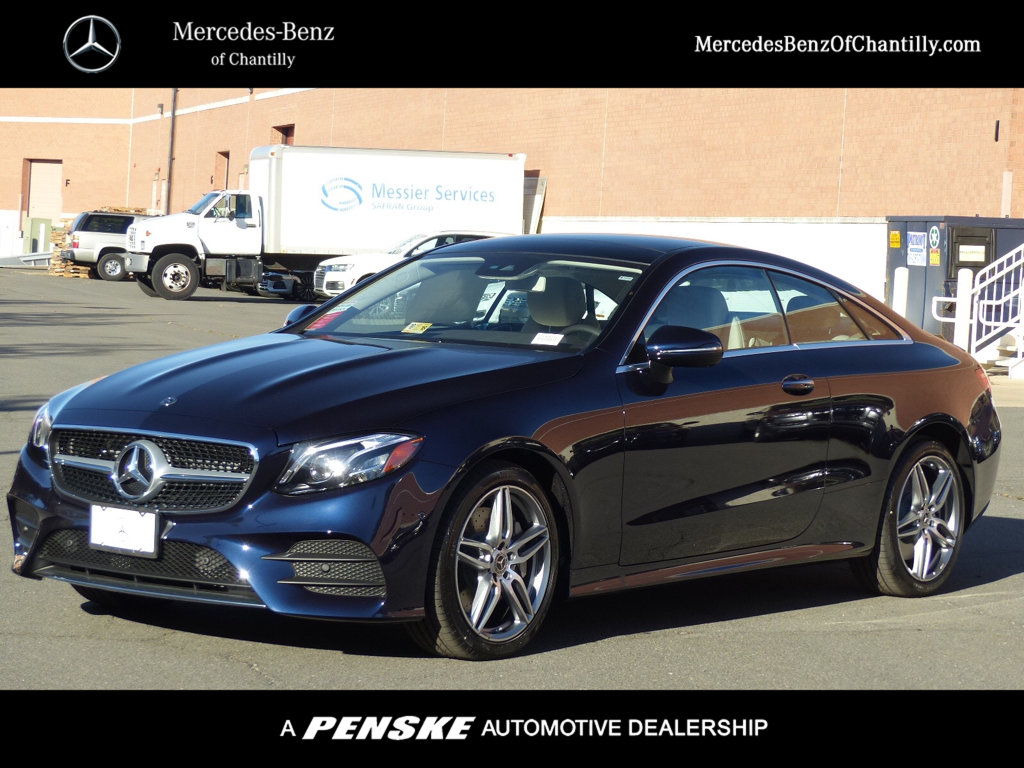 New 2018 mercedes benz e class e 400 sport coupe in for Mercedes benz chantilly