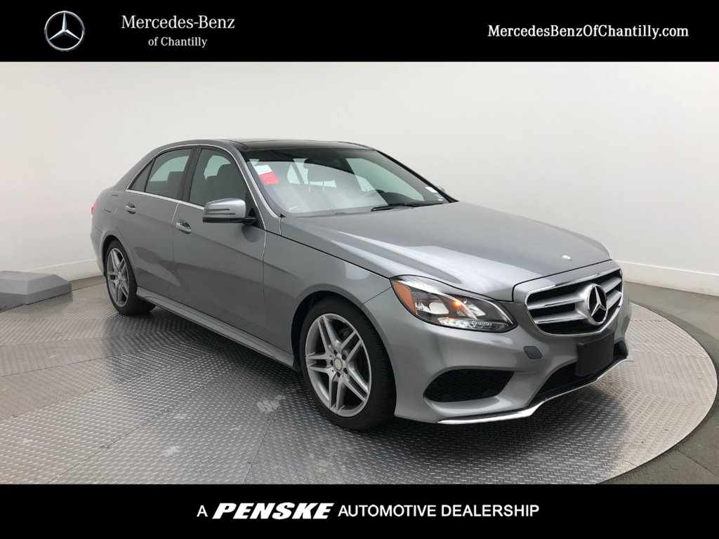 Pre-Owned 2014 Mercedes-Benz E-Class 4dr Sedan E 350 4MATIC®