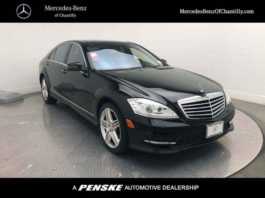 Pre-Owned 2013 Mercedes-Benz S-Class S 550 Sport