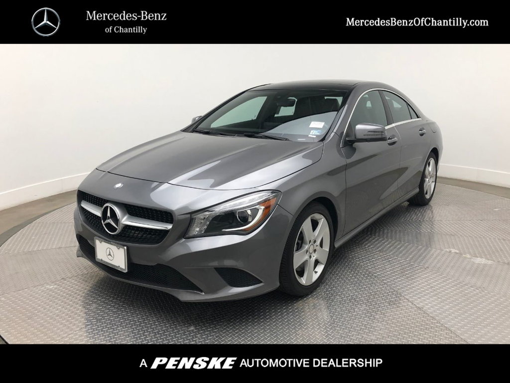 Certified Pre Owned 2015 Mercedes Benz Cla Cla 250 Coupe In