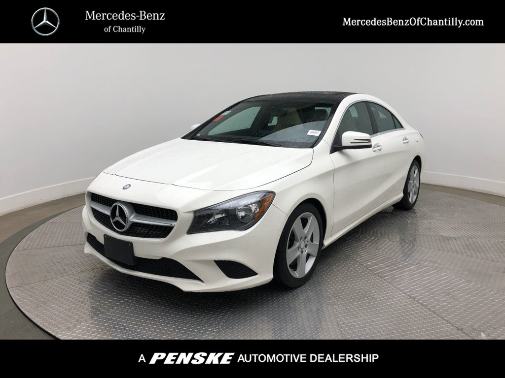 Certified Pre Owned 2016 Mercedes Benz Cla 4dr Sedan 250 4matic
