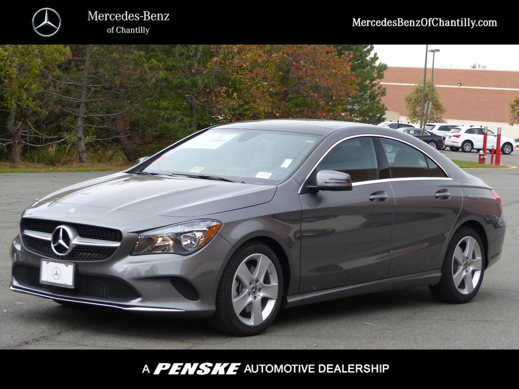 New 2018 Mercedes Benz Cla Cla 250 Coupe In Chantilly