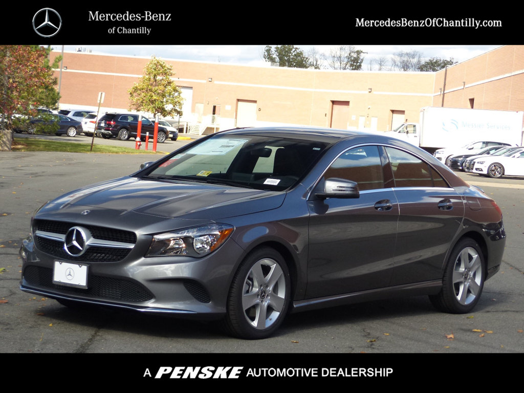New 2018 Mercedes Benz Cla Cla 250 Coupe In Chantilly 7180359