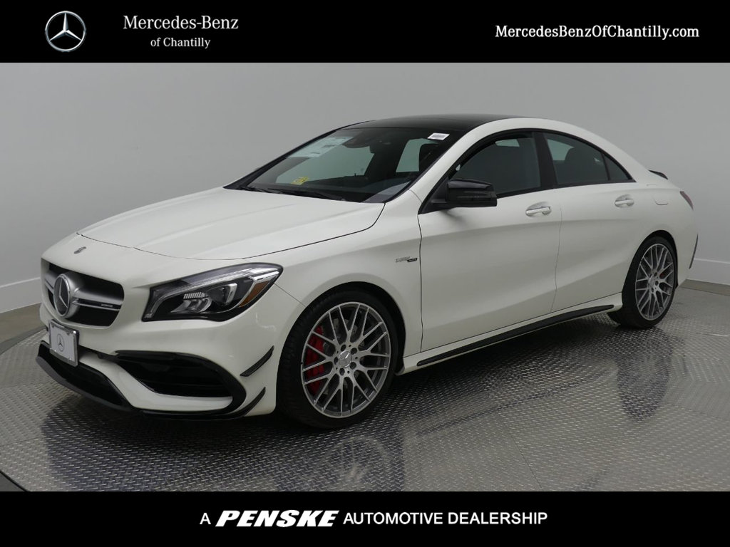 new 2018 mercedes benz cla cla 45 amg coupe coupe in chantilly 7180592 mercedes benz of. Black Bedroom Furniture Sets. Home Design Ideas