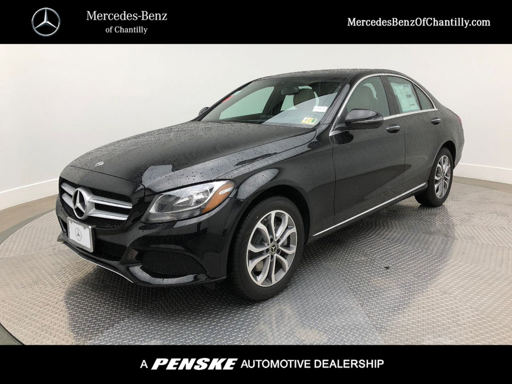 New 2018 mercedes benz c class c 300 sedan in chantilly for Mercedes benz chantilly