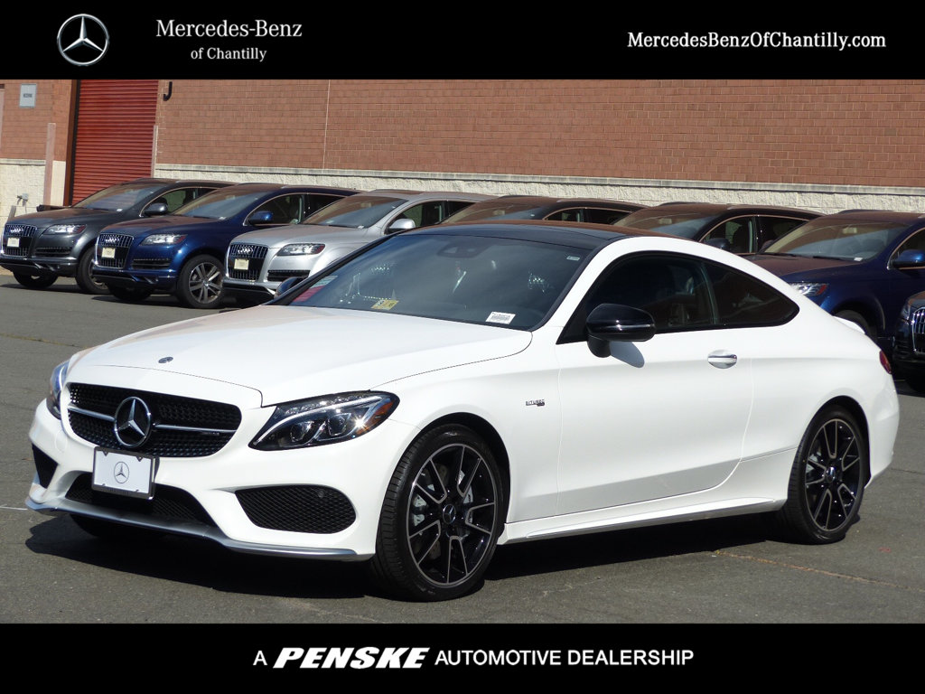 New 2018 mercedes benz c class amg c 43 4matic coupe for Mercedes benz 300 amg