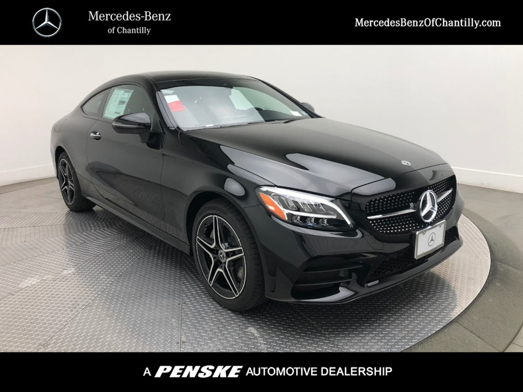 New 2020 Mercedes Benz C 300 4matic Coupe With Navigation