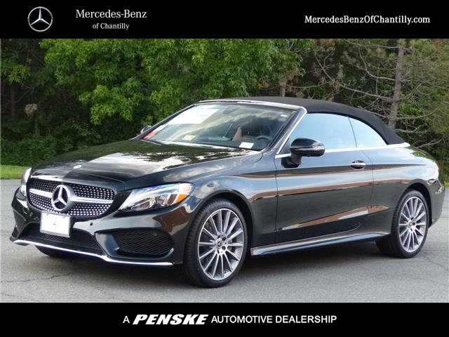 New 2018 mercedes benz c class c 300 sport cabriolet in for Mercedes benz chantilly