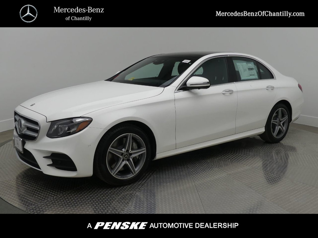 New 2018 mercedes benz e class e 300 sedan in chantilly for Mercedes benz chantilly