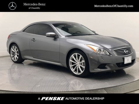 Pre-Owned 2010 INFINITI G37 Convertible 2dr