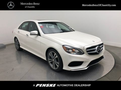 Pre-Owned 2016 Mercedes-Benz E-Class 4dr Sedan E 350 Sport 4MATIC®