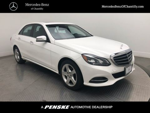 Certified Pre-Owned 2016 Mercedes-Benz E-Class 4dr Sedan E 350 Luxury 4MATIC®
